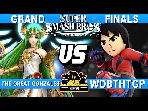 Smash Ultimate Tournament Grand Finals - Great Gonzales (Palutena) vs WDBTHtGP (Mii Brawler) CNB178 thumbnail