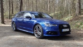 First drive 2015 Audi A6 3.0 TDI Competition 347 PS (launch, flyby etc.)