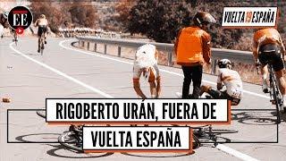 Rigoberto Urán se retiró de la Vuelta a España y 'Superman' López es tercero en la general