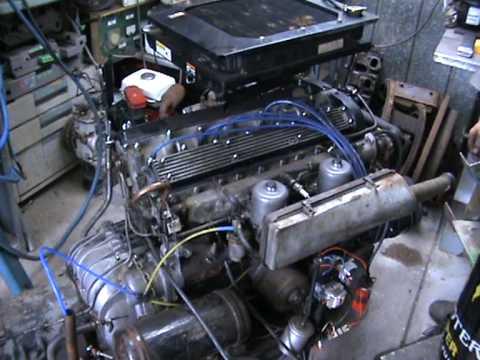 Jaguar Xj6 Engine Cold Start And Run