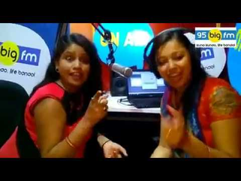 95 Big Fm Patna Ke Office Me Bidas Biharan Segement  Khushbo