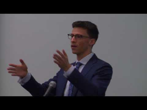 2018 Student Scholar Series: Raymond Magorien (3L) – International Maritime Disputes