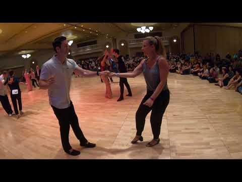 West Coast Swing | Jordan Frisbee + Brandi Guild | Champion JJ Prelim - Desert City Swing