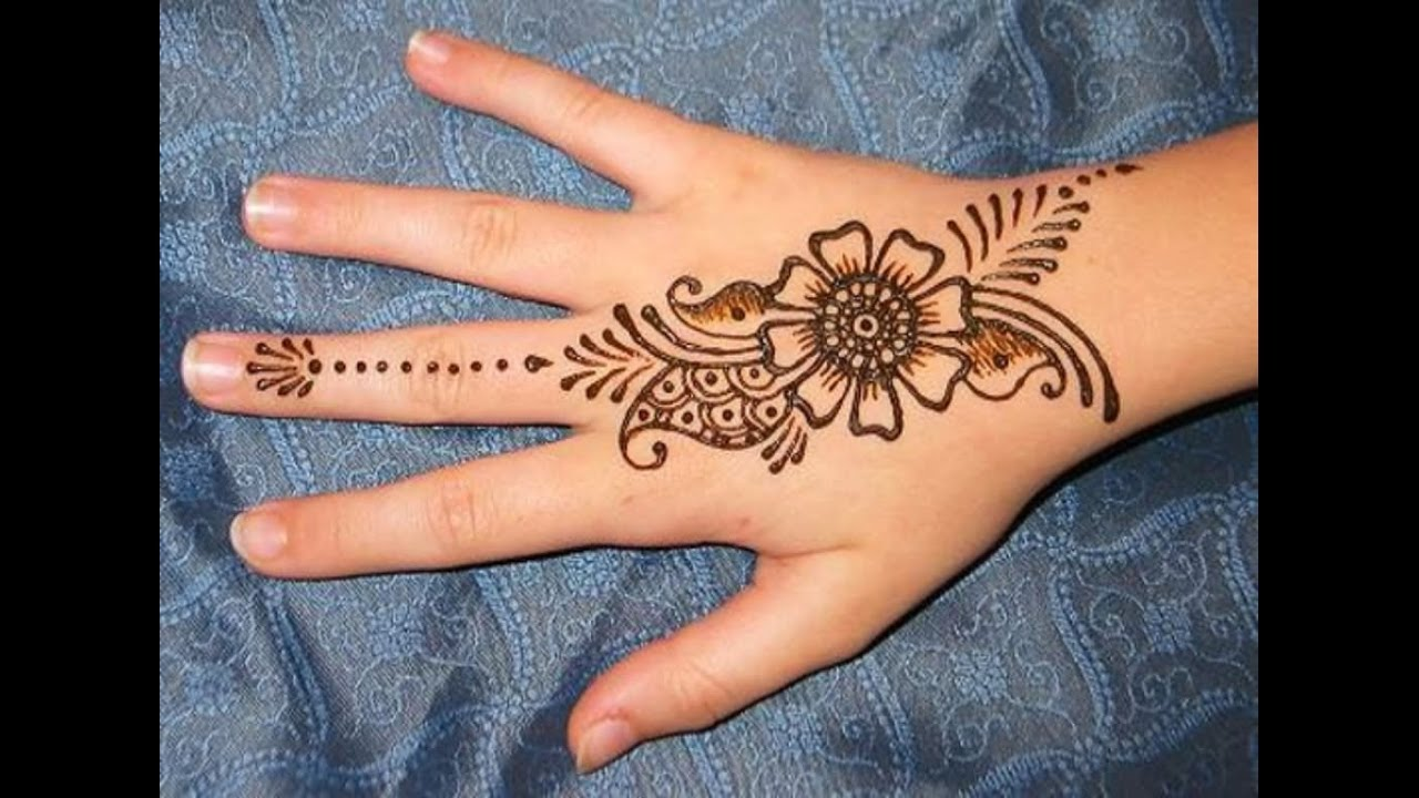Simple Henna Tattoo Designs For Wrist: DIY HENNA PASTE HENNA TATTOO WITHOUT HENNA POWDER, VERY