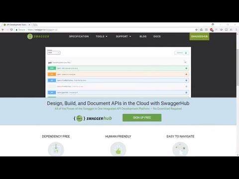 SWAGGER and ASP NET Web API 2 - YouTube