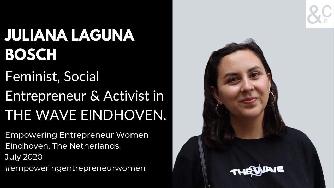 Talk about us: Juliana  Bosch, feminist, social entrepreneur and activist.