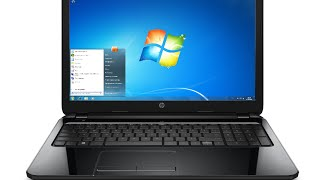 HP 15-ac007nq Windows 7 installation