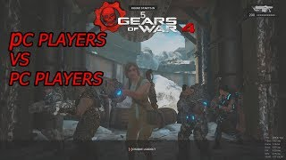PC Players Vs PC Players | Gears Of War 4 Multiplayer Gameplay