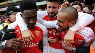Danny Welbeck Goal Vs Leicester City Last Gasp Goal Youtube