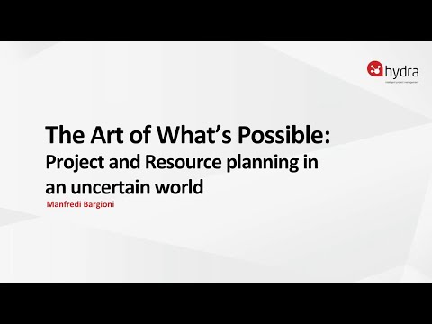 The Art of What's Possible:  Project Resource Planning in an Uncertain World