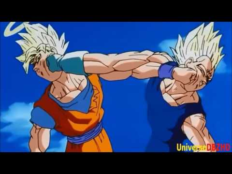 goku vs vegeta [AMV] 12stone Anthem For The Underdog