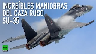 El caza SU-35 ruso realiza espectaculares maniobras en China (VIDEO COMPLETO)