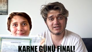 KARNE GÜNÜ FİNAL! (7 SENE LİSE)