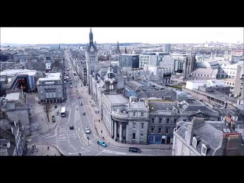 Aberdeen from the sky DJI Mavic Pro