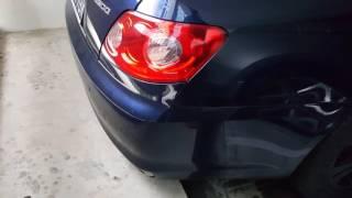 Toyota Mark X V6 Exhaust Sound