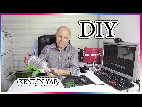 Elektrikli El Süpürgesi yapalım (DIY) (Kendin yap )
