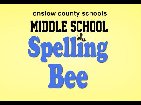 Middle School Spelling Bee 2015