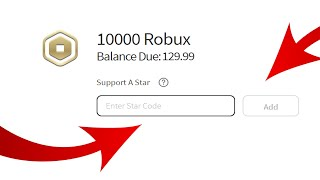 HOW TO USE STAR CODES IN ROBLOX ! WORKING 2020!