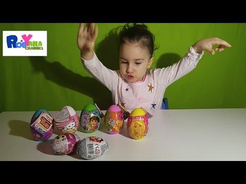 VLOG: Яйца с сюрпризами /...