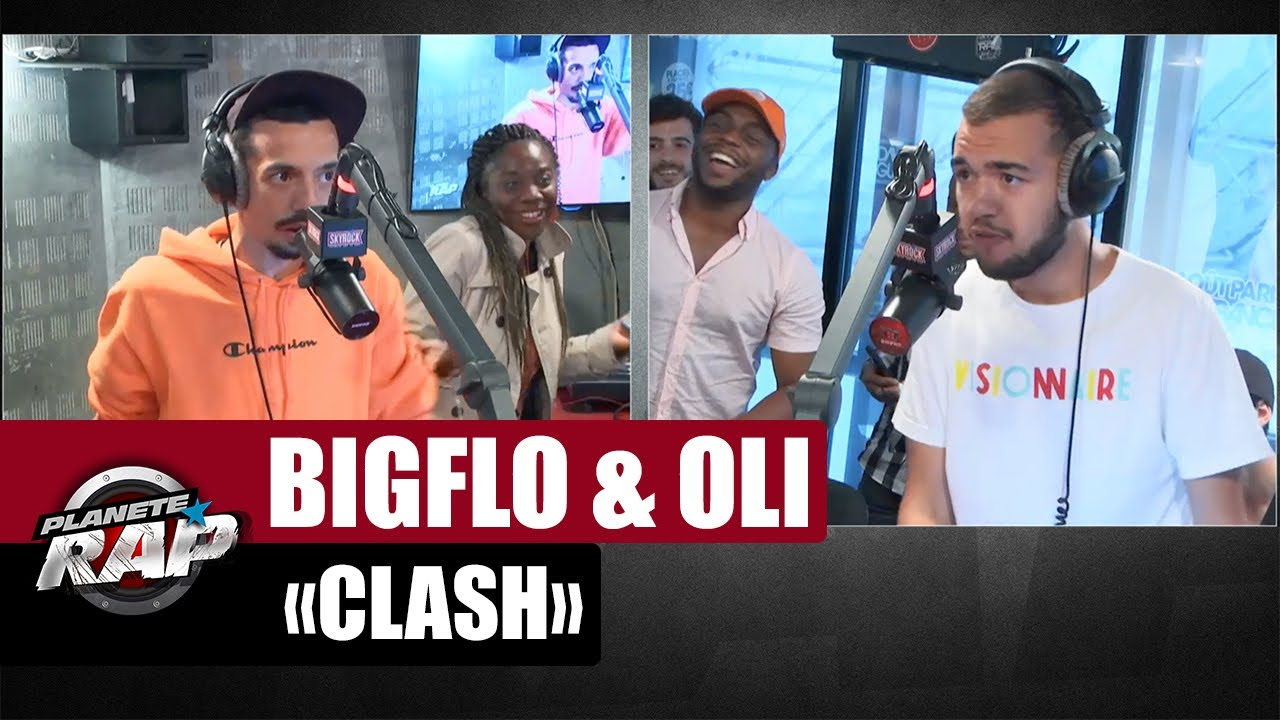 Clash - Bigflo Vs Oli - Part 2 (avec Black M) #PlanèteRap