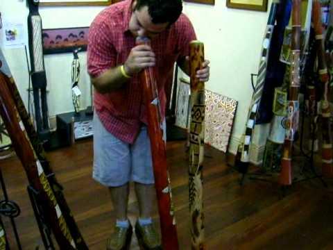 Didgeridoo in Adelaide shop