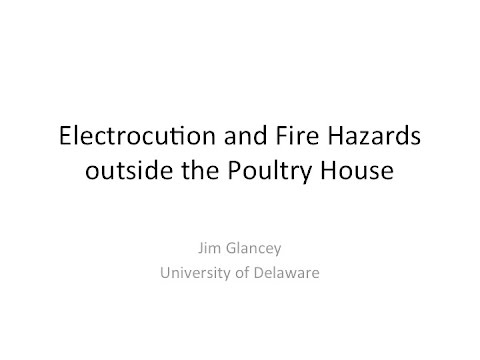 Poultry Growers Electrical Farm Safety Part 4/4