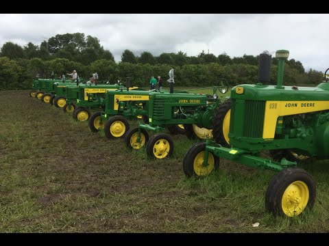 John Deere Tractor Collector Auction Owatonna, MN 6/13/15