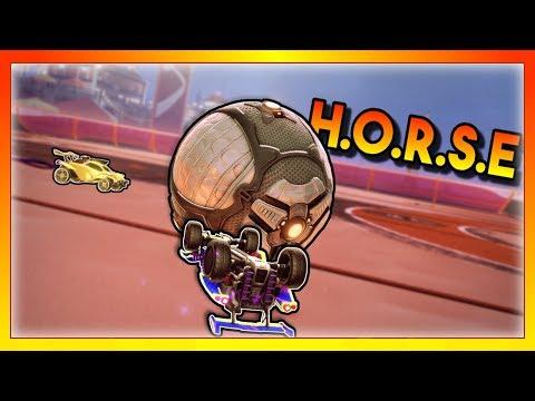 I Challenged Mertzy To A Game Of H.O.R.S.E In Rocket League