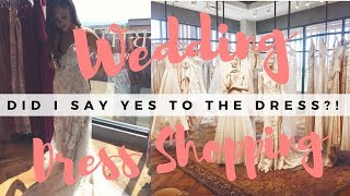 COME WEDDING DRESS SHOPPING WITH ME! || If The Veil Fits Wedding Series