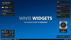 Win10 Widgets - Intro