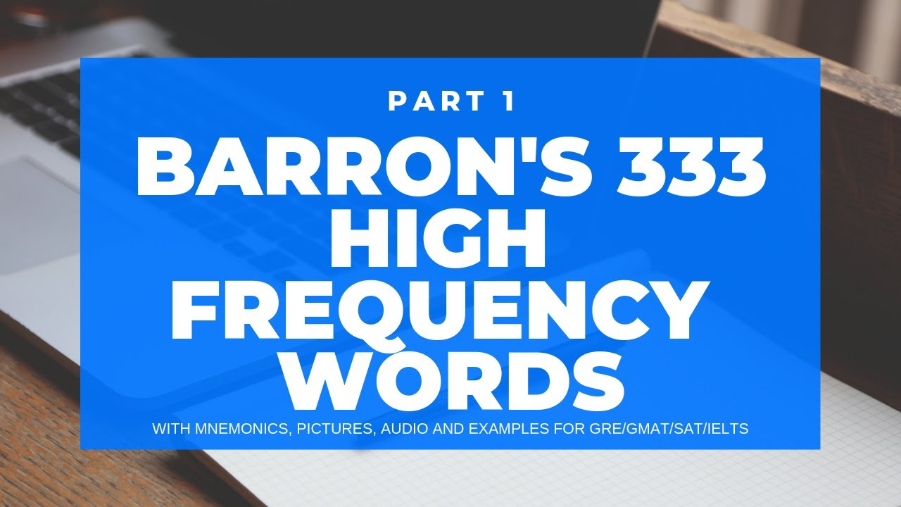Barrons Word List Audio Book