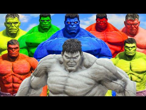 World War Hulk | Blue Hulk \u0026 Red Hulk \u0026 Hulk vs Grey Hulk - What If Battle Superheroes