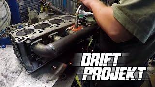 DRIFT PROJEKT - BMW e46 #5 - Kolektory wydechowe