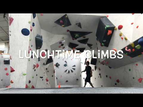 Lunchtime Climbs Visits Flash Climbing Centre In Solihull