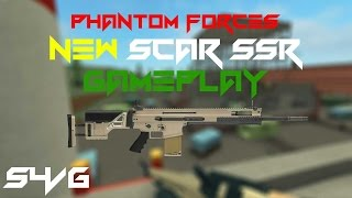 Phantom forces Roblox / Lets used Scar SSR for the first time ?!?!