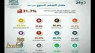 شاهد..لميس الحديدي: التضخم وصل إلى أعلى معدلاته  في تاريخ مصر