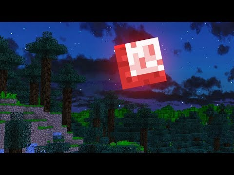 My Minecraft MOON turned RED... (what happened?)