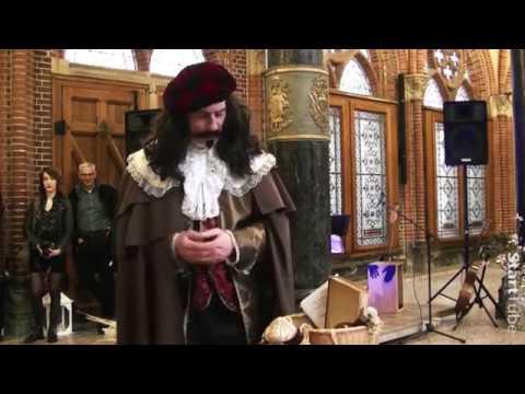 Feestelijke opening Brouwerij Ambrass met  een theatermonoloog door acteur Ron Roumen