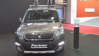 Peugeot Partner New Tepee Outdoor 1.6 BlueHDi 100 BVM5 E6 2016 Exterior and Interior