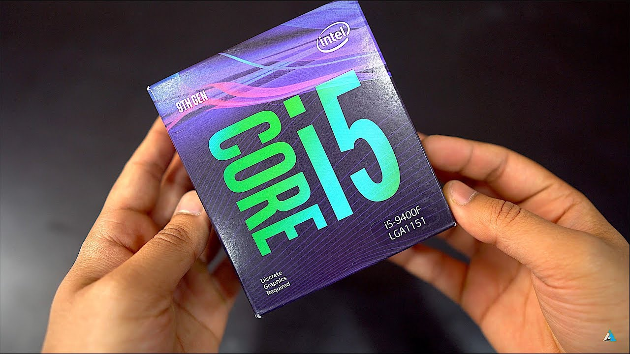 Intel Core i5 9400F REVIEW and UNBOXING with BenchMarks & GamePlay - YouTube