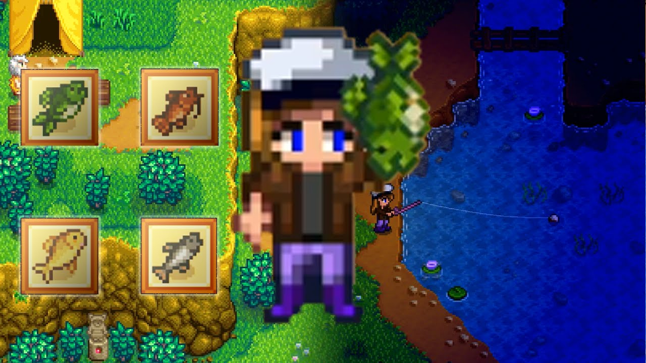 Spring Lake Fishing Stardew Valley All Day And All Night Youtube So i checked the wiki and threads here and everything says. youtube