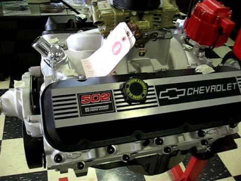 Chevrolet Big Block 502 ci - YouTube