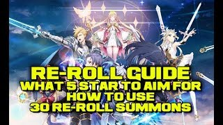 [Epic Seven] What To Re-Roll For & How? 30 Free Multi Summon Tries!