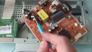 простой ремонт монитора SAMSUNG