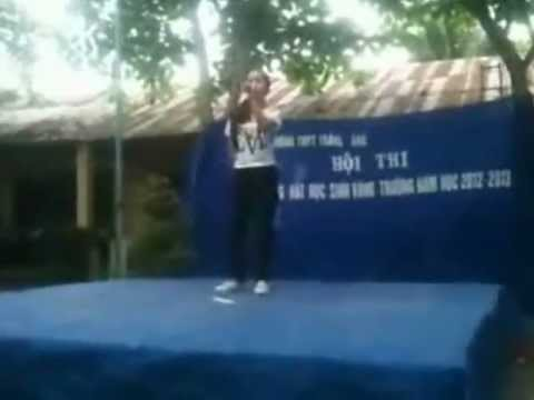 mung ngay nha giao Viet Nam 20/11 cua lop 11c1 truong THPT Trang Bang