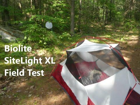 BioLite SiteLight XL Review & Field Test in Ontario