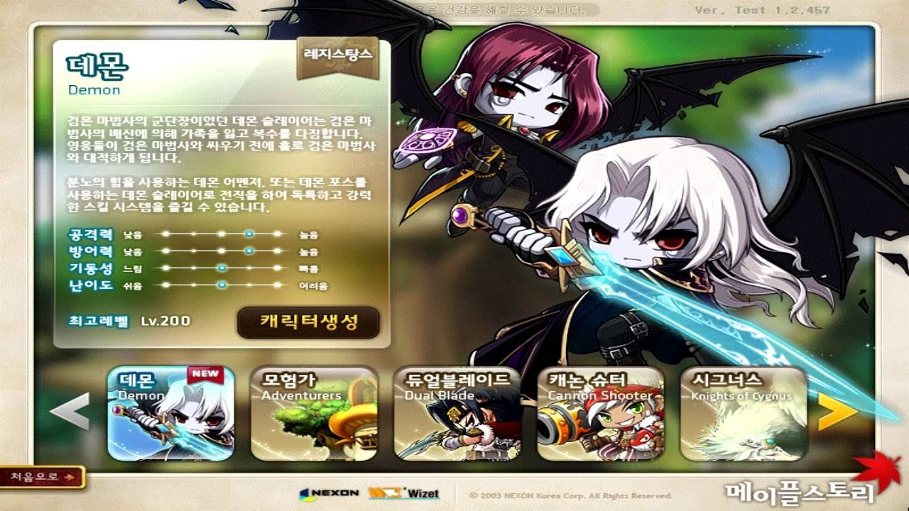 demon avenger maplestory youtube