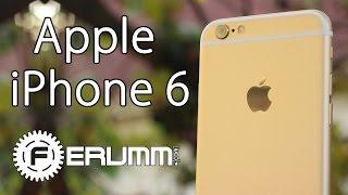 iPhone 6 полный обзор и особенности. Apple iPhone 6 Gold большой видеообзор от FERUMM.COM