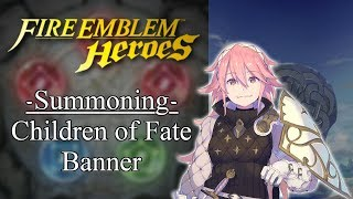 Soleil Makes Me Smile! - FEH Summoning Children of Fate Banner