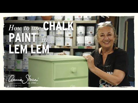 How to paint with Chalk Paint® in Lem Lem